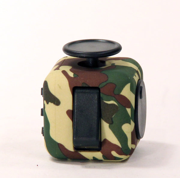 Fidget Cube - ADHD toy - Great for just keeping you hands busy-Silicone Camo Skin