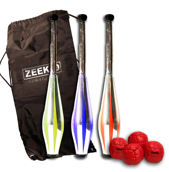 Zeekio Intermediate Juggling Set