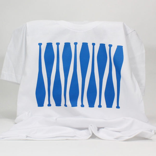 Juggling Clubs - Super Soft T-Shirt