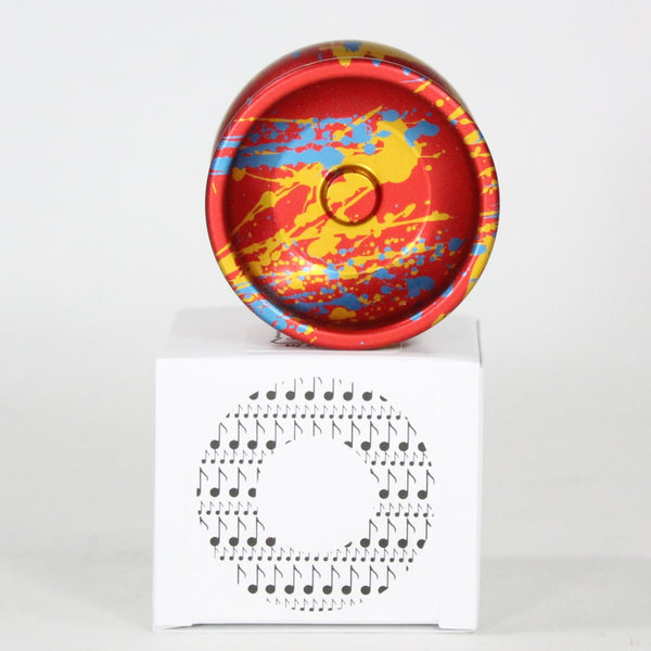 One Drop Overture Yo-Yo - U.S. National Champion Sebastian Brock Collaboration- (YoYoSam Exclusive Red Gold Blue)