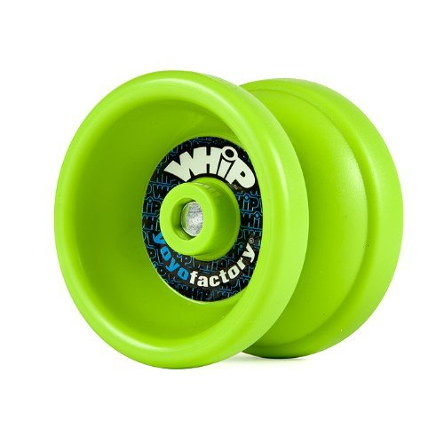 YoYoFactory WHiP (Responsive) Beginner to Intermediate Yo-Yo - Free Strings and Stickers