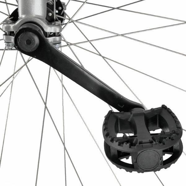 "UDC Titan 36"" Trainer Unicycle - CrMo spindled hub (Grey)"