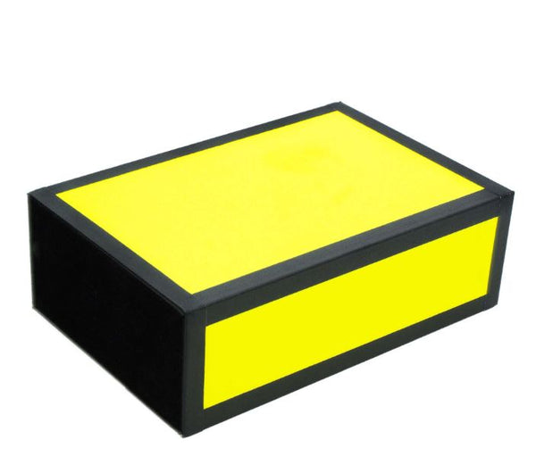 Henrys Juggling Wooden Cigar Box - Bright Neon Colors