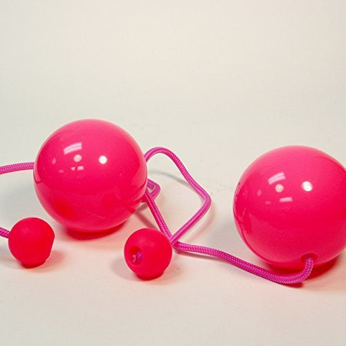 Play Pair of Contact GIGA Poi with 100mm Stage Ball