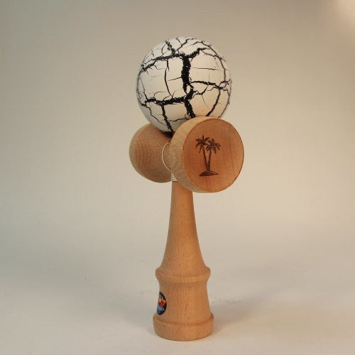 "Bahama Kendama 4.5"" Pocket Kendama in Crackle"