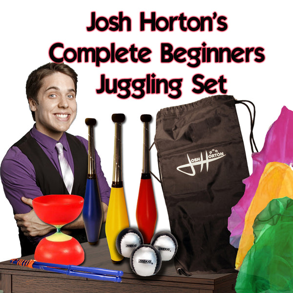 Josh Horton Complete Beginner Juggling Set for Kids