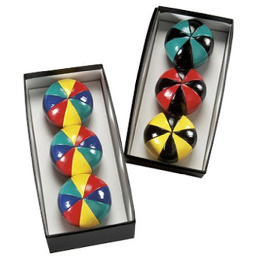Higgins Brothers World's Finest Juggling Ball Set 8-Panel Ball - Set of 3 Balls
