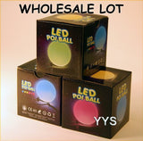 Wholesale Lot of Zeekio Lighted LED Poi - 20 POI- (10 Sets)