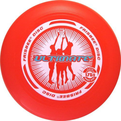 Wham-o Ultimate Frisbee 175g -The Original Flying Disc - Graphic styles vary)