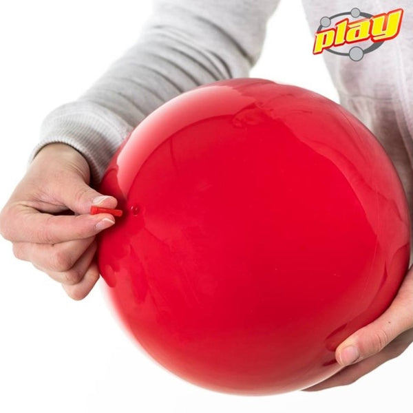 Play Inflatable Spinning Ball - 200mm, 300g - Adjustable Air Pressure