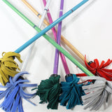 Z-Stix Flower Juggling Stick- Devil Stick- Holographic Glitter Series- Choose the Perfect Size