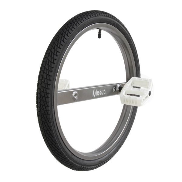 "Nimbus 20"" Ultimate UNICYCLE Wheel - High Performance Wheel- Stunt Wheel- Ultra-stiff 7005 Aluminium Frame"