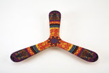 Wallaby Boomerang Three Wing Birch, Hand Crafted, Digitally Printed and Signed, Great for Beginners
