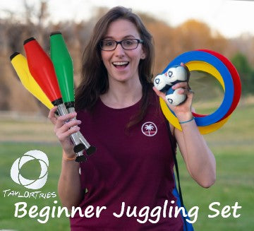 Taylor Tries Beginner Juggling Set - Great for Kids!