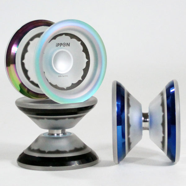 iYoYo iPPON Yo-Yo - CNC Machined Polycarbonate YoYo with Stainless Steel Rims