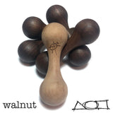 AroundSquare Wooden Knucklebone Skill Toy- Begleri -