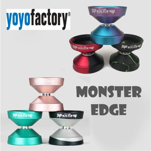 YoYoFactory Monster Edge Yo-Yo - World Champion Evan Nagao Signature YoYo