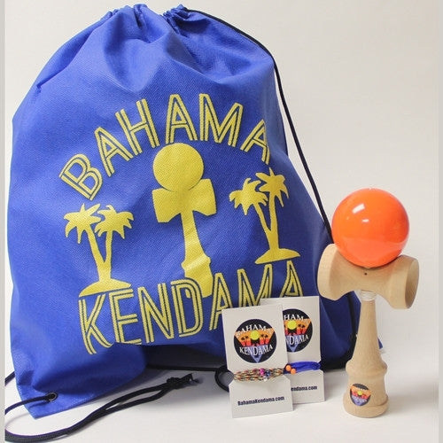 The Bahama Kendama Gift Set - Kendama, Bag, Extra Strings
