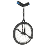 Unicycle 20'' Hoppley BLACK - Trainer Round Crown Frame - Nimbus Seat post Clamp-
