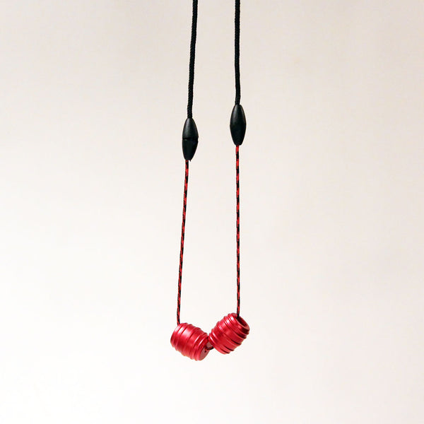 Zeekio/Monkey Fist Begleri Collaboration. Breakaway Necklace Begleri- Monkey Barrels - 7075 Aluminum