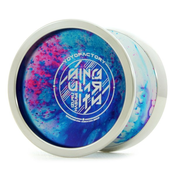 YoYoFactory Singularity Yo-Yo - Bi Metal YoYo - Signature Model of Japan's Izuru Hasumi