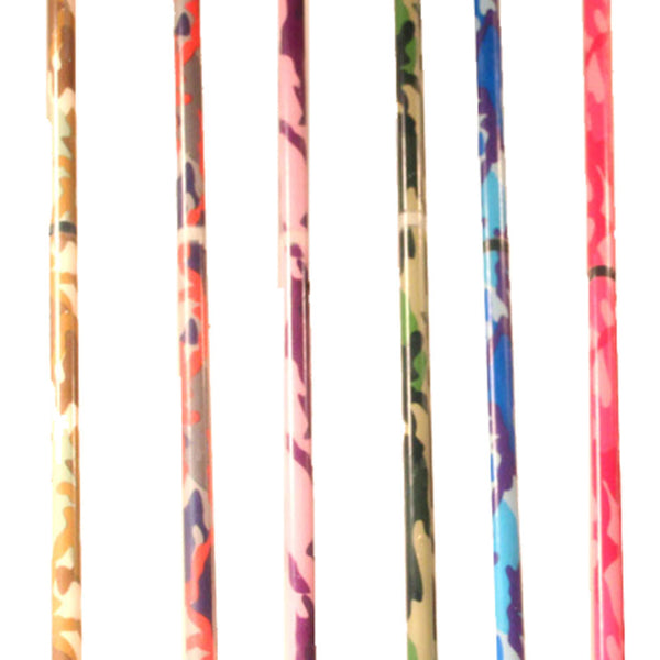 Z-Stix Flower Juggling Stick- Devil Stick- Camouflage Series (Camo Print Varies) - Choose the Perfect Size