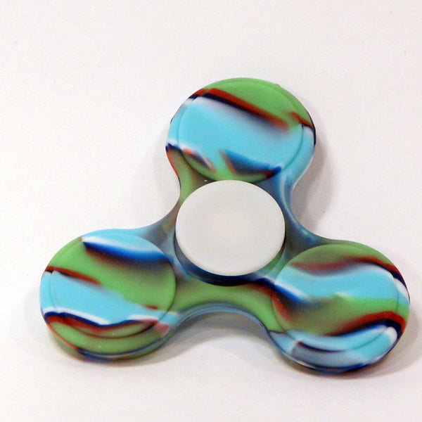 Silicone Hand Spinner - Fidget Toy (Eastern Sky)