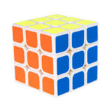 Duncan 3x3 Quick Cube - Superior Performance Speed Cube (White)