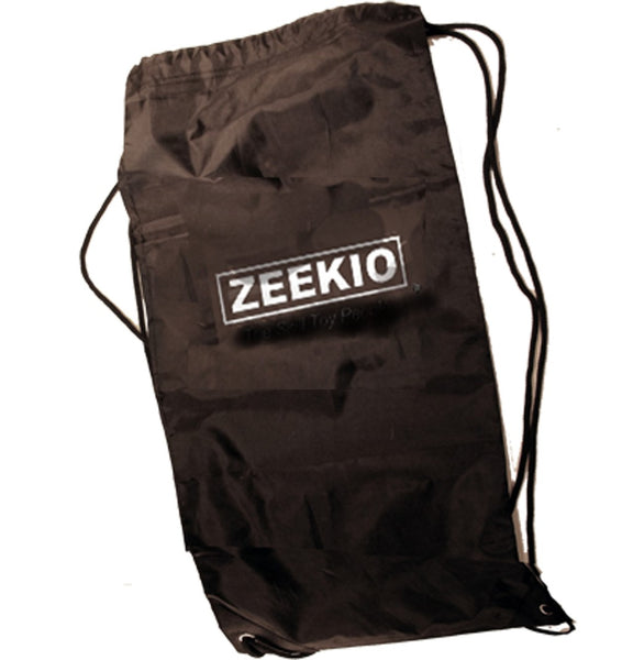 "Zeekio Juggling Bag - Durable Nylon Drawstring Bag - Large 12""x 24"" - Fits 6 Juggling Clubs"