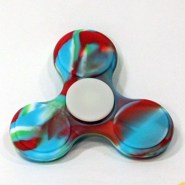 Silicone Hand Spinner - Fidget Toy (Indian)