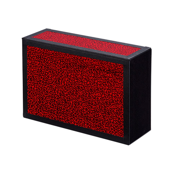 Henrys Juggling Wooden Cigar Box - Glitter Colors with Black Tape