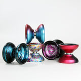 iYoYo RiTTER Yo-Yo - 6061 Aluminum Alloy YoYo - Great for Finger Spin Tricks!