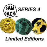 Sam Sack - Series 4 - The Phoenix 14 Panel Footbag - Pellet Filled