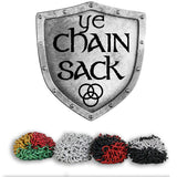 Chain Sack - Chainmail Footbag - All Metal -Hand made