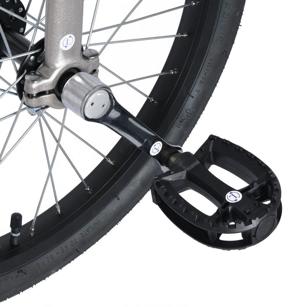 "Trainer 24"" Unicycle - Quick Release Seatpost Clamp (Grey)"