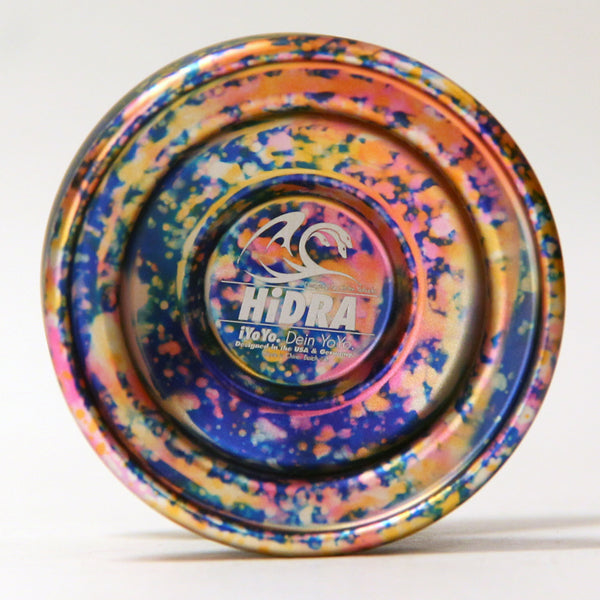 iYoYo HiDRA Full Metal Yo-Yo Designed In Collaboration With Yo-Yo Player Ze'ev Yehuda
