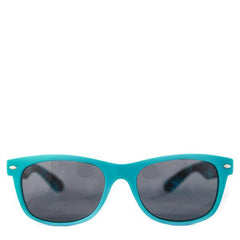 Cryptic Leaf Sunglasses Blue