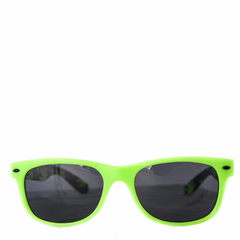 Cryptic Leaf Sunglasses Lime