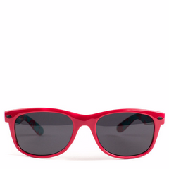 Cryptic Leaf Sunglasses Red