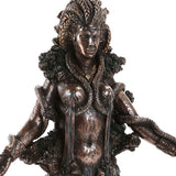 Celtic Mythology Goddess Danu Irish Goddess Cast Bronze Collectible Figurine 10 Inch