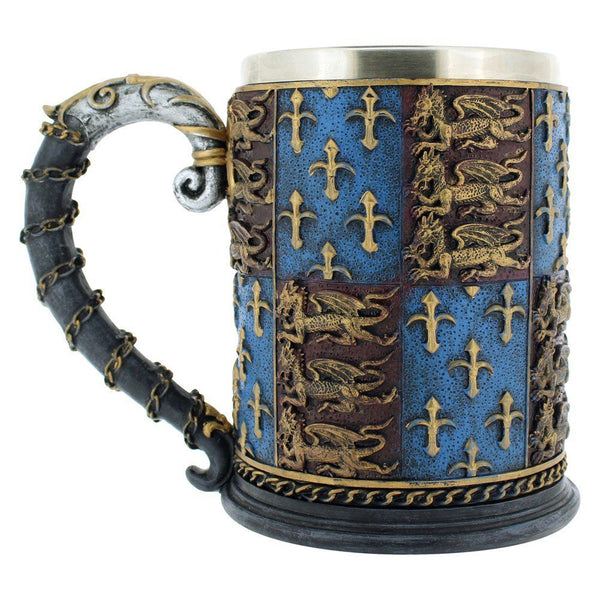 Medieval Times Coat of Arms Mug Tankard 13oz