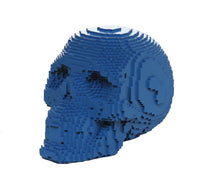 3D Pixelated Skull Collectible Desktop Figurine Gift 4 Inch