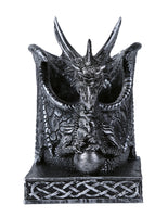 Fantasy Dragon Utility Holder Kitchen Counter top Utensils Organizer or Home Office Workplace Stationery Utility Holder