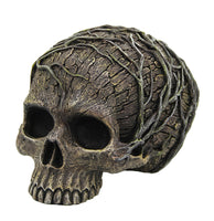 Tree Spirit Dryad Skull Collectible Figurine Desktop Home Decor 4.5H