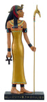 "Ancient Egyptian Hieroglyph Inspired Goddess Isis Collectible Figurine 10"" Tall"