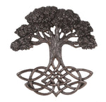 Celtic Tree of Life Knotwork Decorative Wall Plaque 13 Inch Tall