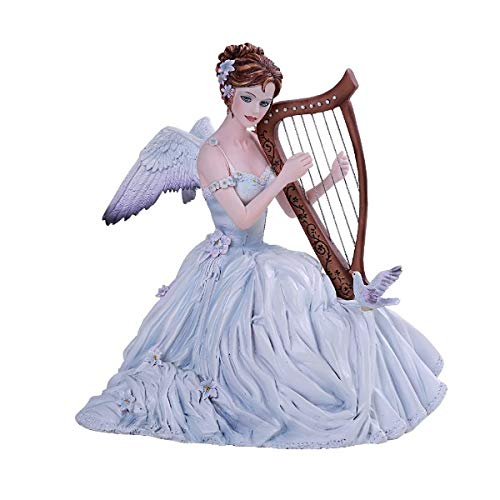 PT Chorus Musician Angel Resin Figurine