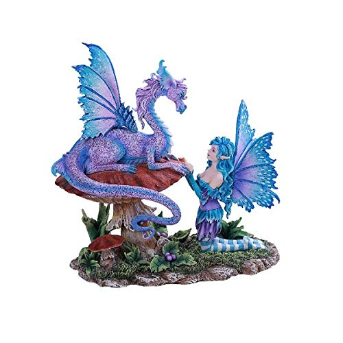 Amy Brown Art Original Collection Companion Dragon with FAE Resin Collectible Figurine