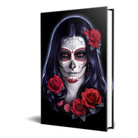 Sugar Skull Embossed Hard Cover Journal by James Ryman