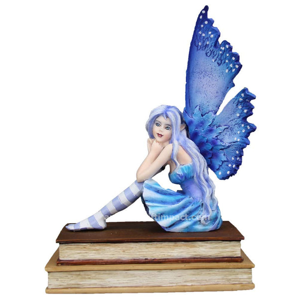 2018 Amy Brown Fairies Dragon Collectible Figurine (Book Muse Fairy)